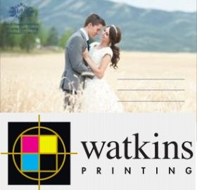Utah wedding invitations - Watkins Wedding Printing