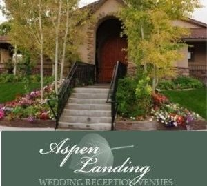 Utah weddings reception center - Aspen Landing - entrance