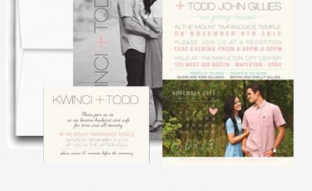 my invite list wedding invitations