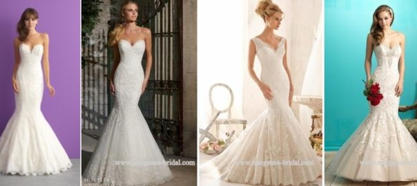 Your-Guide-to-Bridal-Gown-Silhouettes-Mermaid-Styles