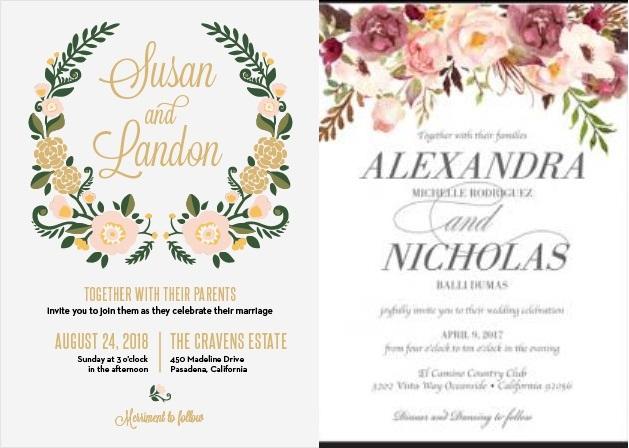 4-Unique-Wedding-Invitation-Styles-Basic-Invite-1