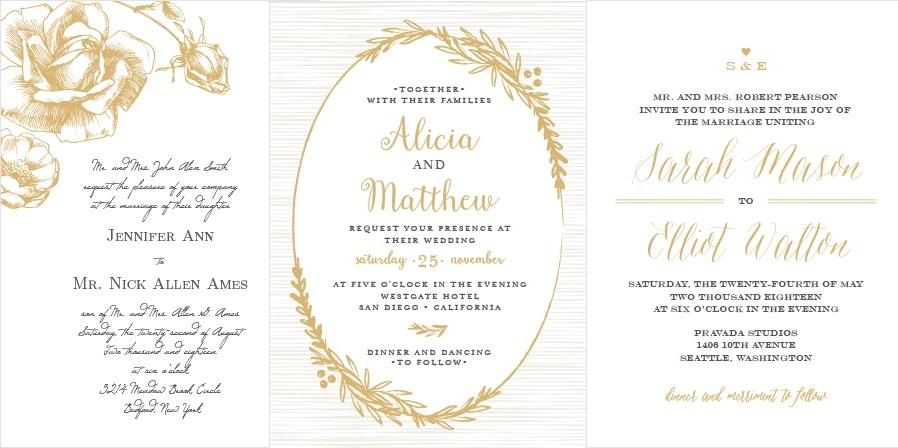 4-Unique-Wedding-Invitation-Styles-Basic-Invite-3