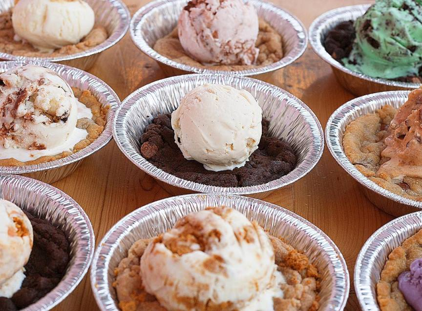 Wedding Catering The Penguin Brothers ice cream Pizookie