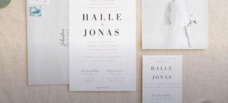 Utah Wedding Announcements & Invitations Print & Main