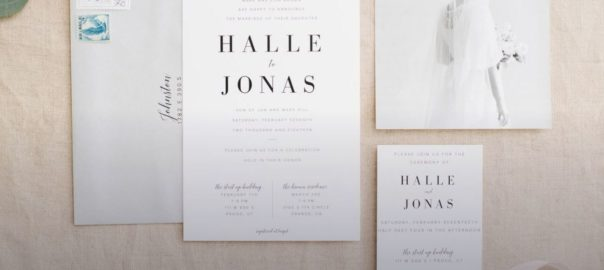 Utah Wedding Announcements & Invitations Print & Main