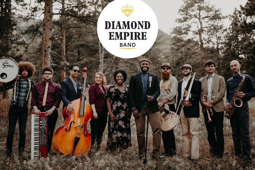 Utah Wedding Live Band Diamond Empire Band Logo
