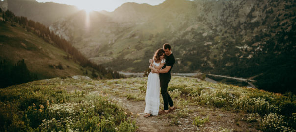 Albion Basin Utah wedding Photo 2