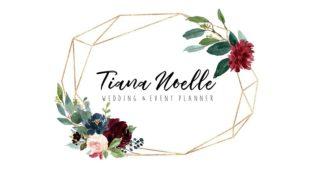 Wedding Planning Open House- Tiana Noelle Grand Opening logo
