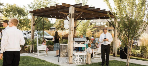 Utah Wedding outdoor decor